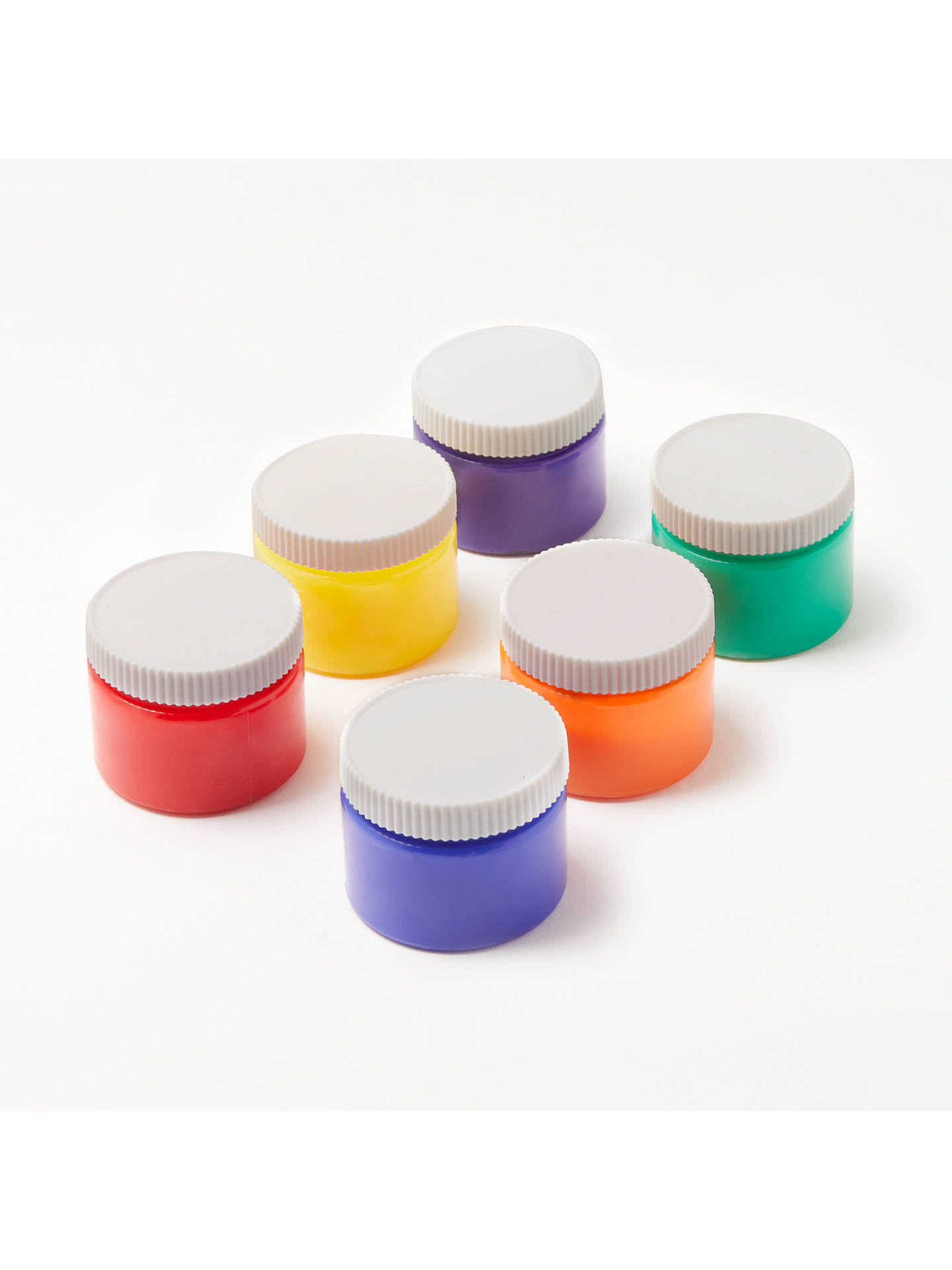 Buy John Lewis & Partners Finger Paints, Pack of 6 Online at johnlewis.com