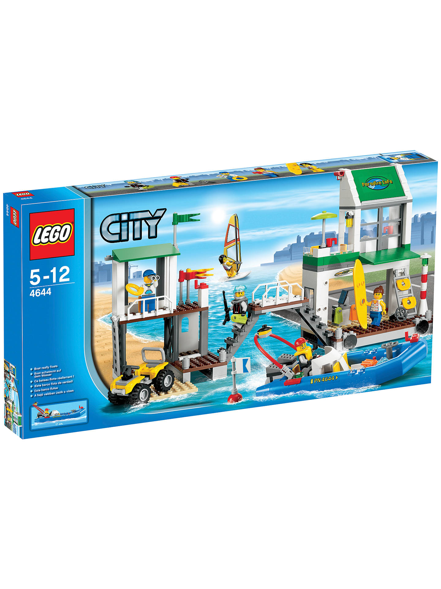 LEGO City 60130 Prison Island at John Lewis & Partners