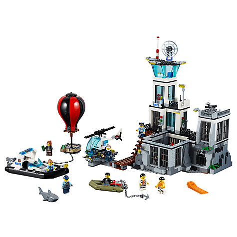 Buy LEGO City 60130 Prison Island Online at johnlewis.com