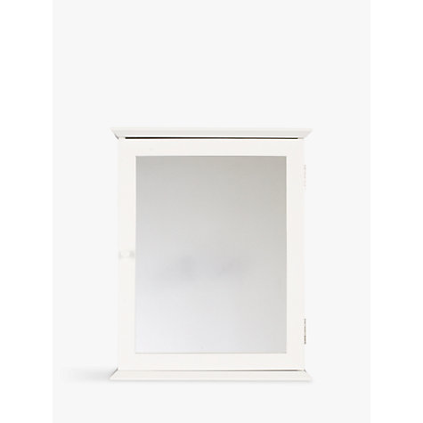 Buy John Lewis St Ives Single Mirrored Bathroom Cabinet Online At Johnlewis.com  ...