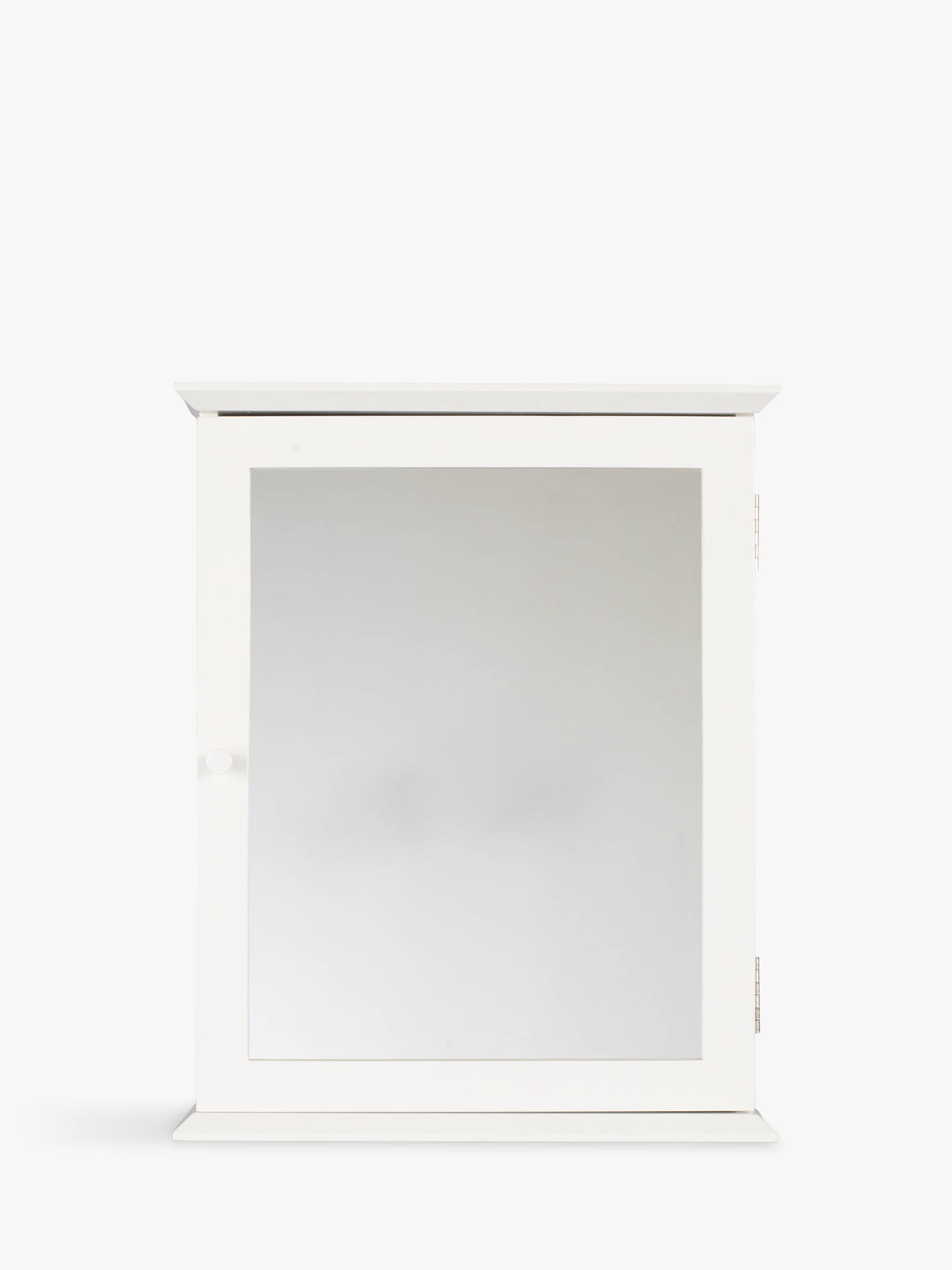 Buy John Lewis & Partners St Ives Single Mirrored Bathroom Cabinet Online at johnlewis.com