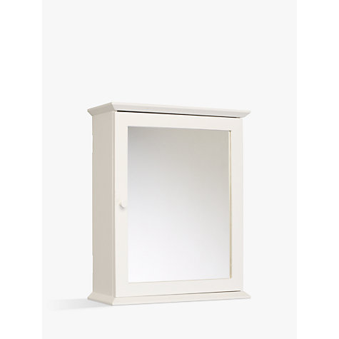 john lewis bathroom cabinets buy lewis st ives single mirrored bathroom cabinet 18030