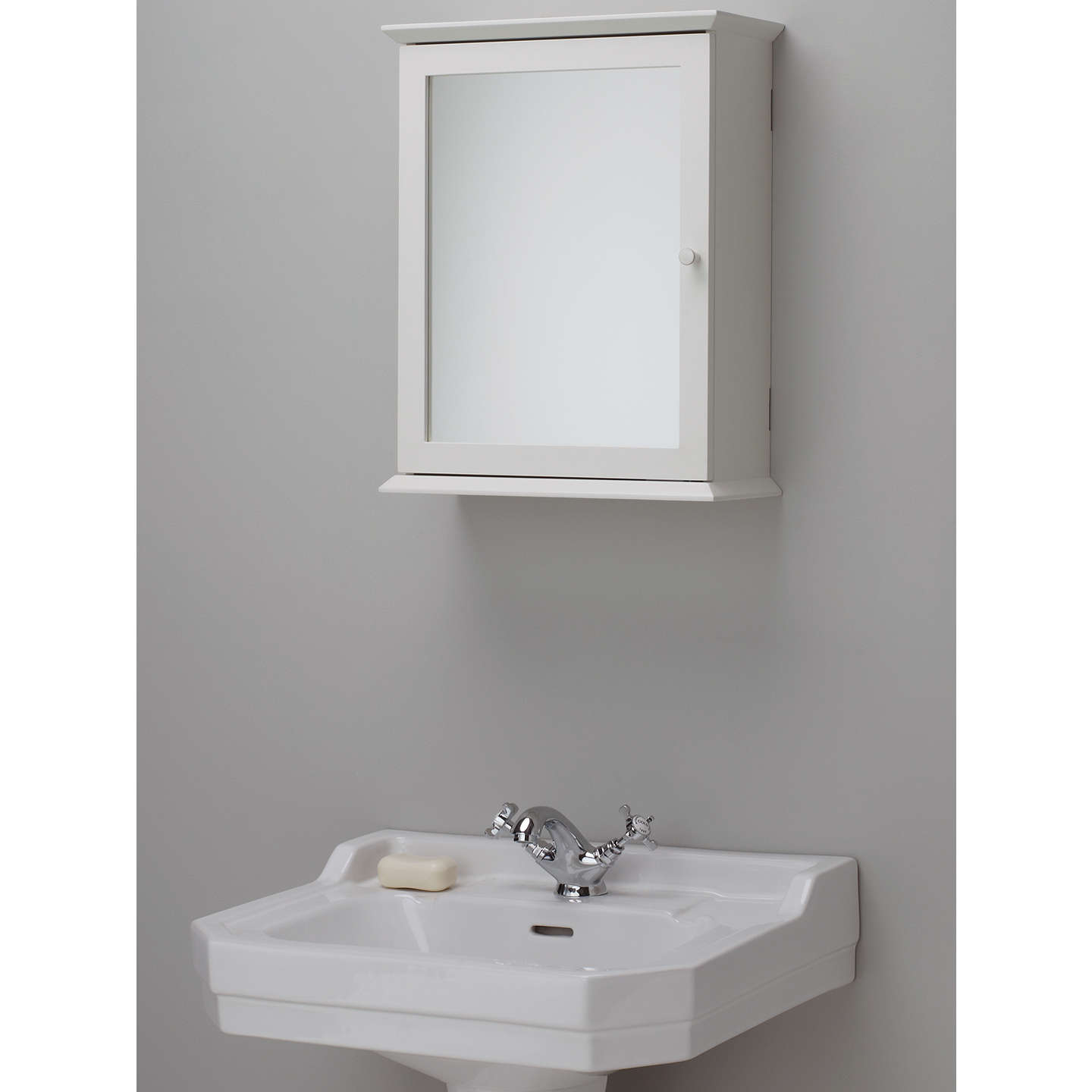 cabinet bathroom mirror lewis st ives single mirrored bathroom cabinet at 12758