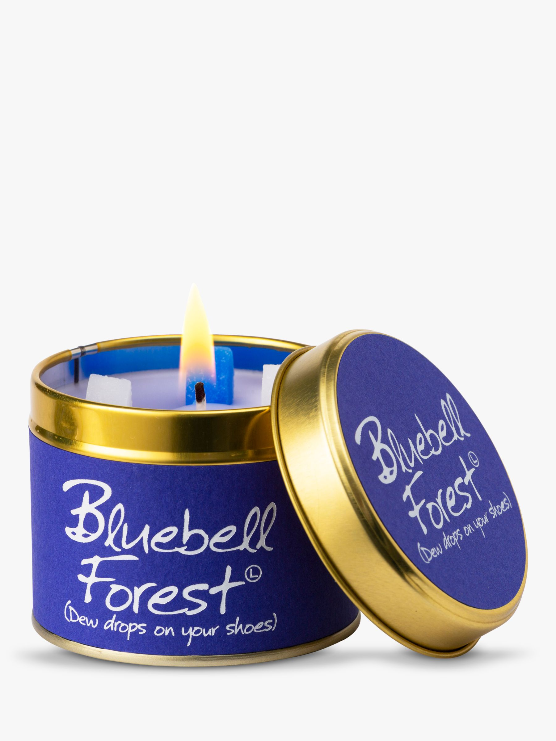 Lily-Flame Lily-flame Bluebell Forest Scented Candle Tin
