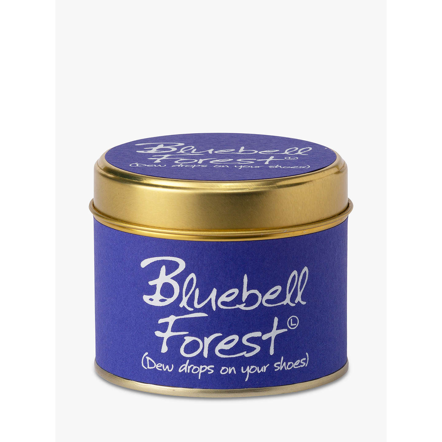 BuyLily-Flame Bluebell Forest Scented Candle Tin Online at johnlewis.com