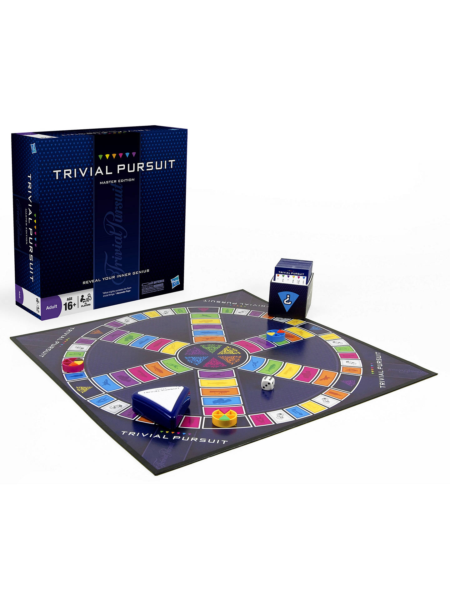 BuyTrivial Pursuit Master Game Online at johnlewis.com