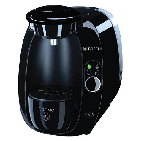 buy tassimo amia coffee machine by bosch black john lewis. Black Bedroom Furniture Sets. Home Design Ideas