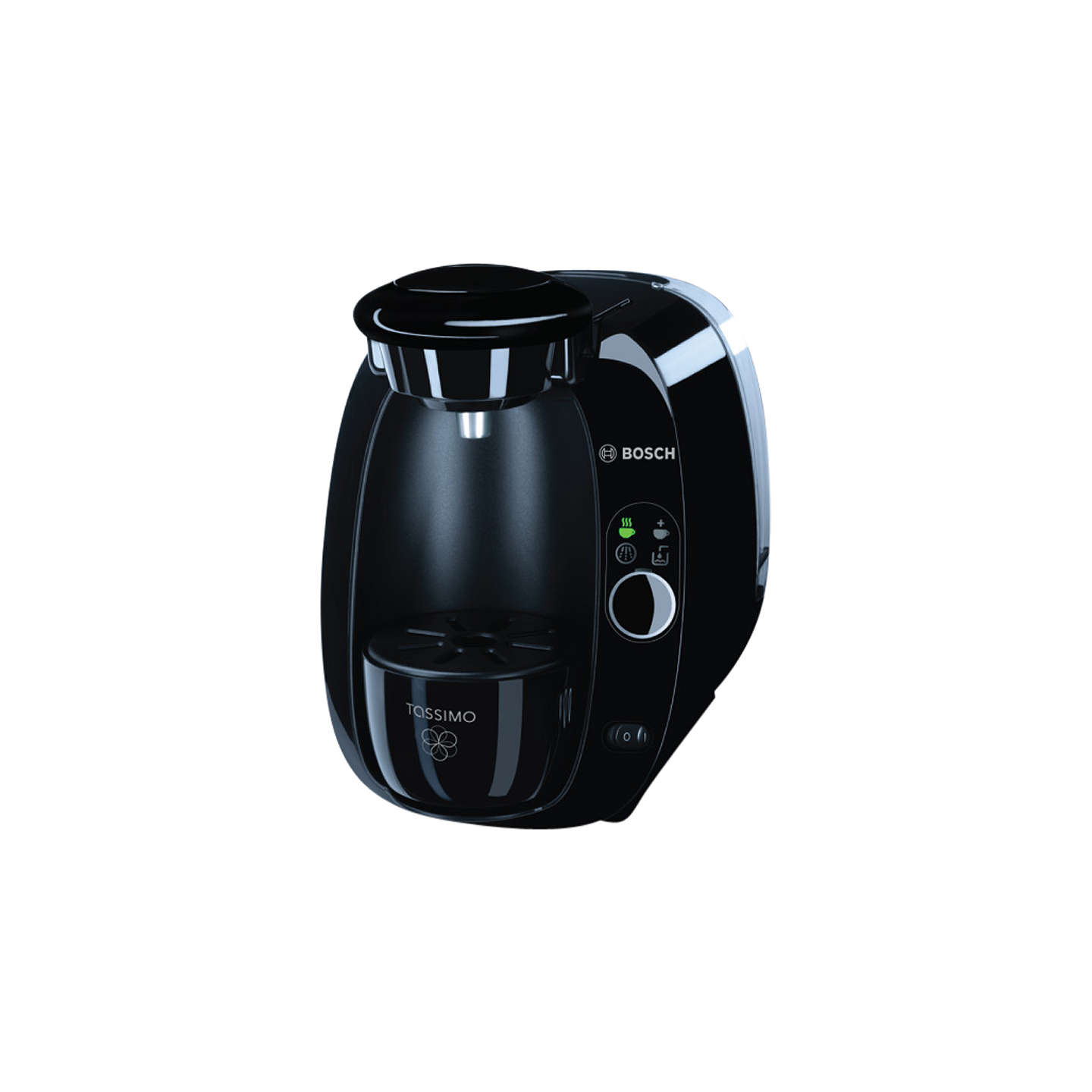 tassimo amia coffee machine by bosch black at john lewis. Black Bedroom Furniture Sets. Home Design Ideas