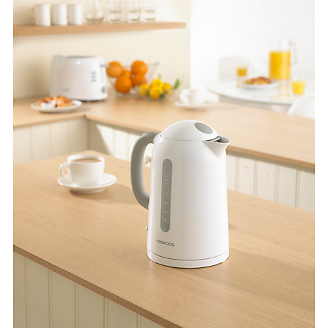 Buy Kenwood JKP210 Kettle, White Online at johnlewis.com