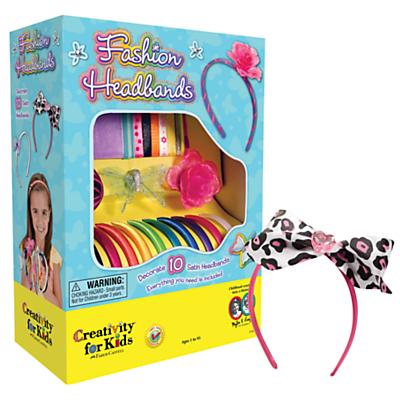 Product photo of Creativity for kids fashion headbands