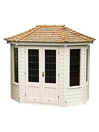 Crane Garden Buildings 1.8 x 2.5m Summerhouse, FSC-Certified (Scandinavian Redwood)