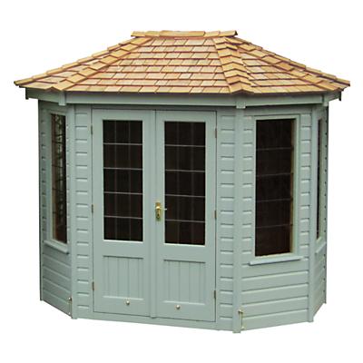 Crane 1.8 x 2.5m Summerhouse, FSC-Certified (Scandinavian Redwood)