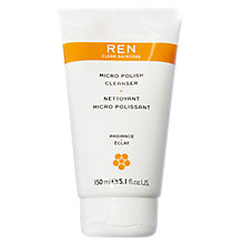 Buy REN Micro Polish Cleanser, 150ml Online at johnlewis.com