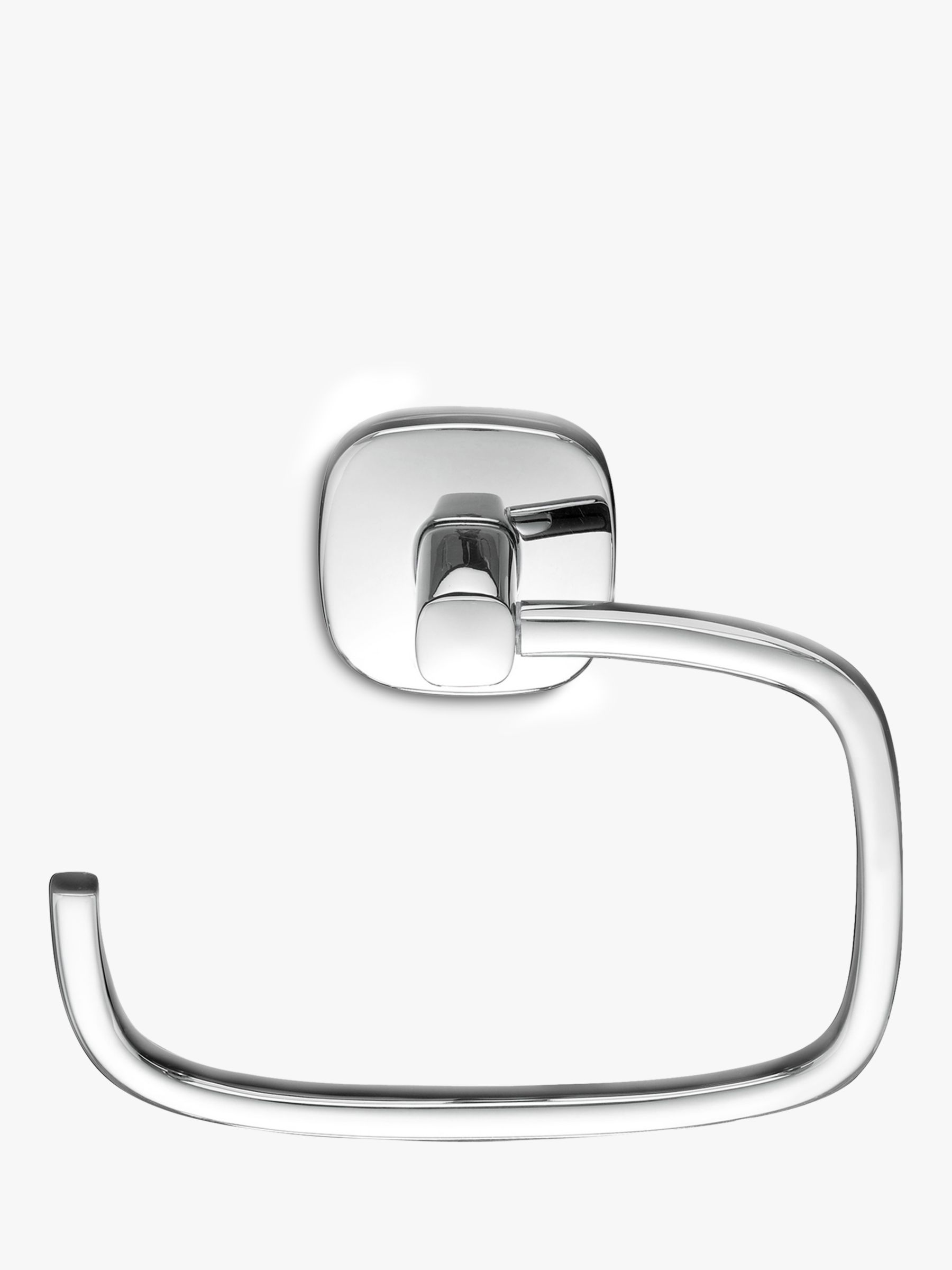 Robert Welch Burford Swing Toilet Roll Holder, Stainless Steel at ...