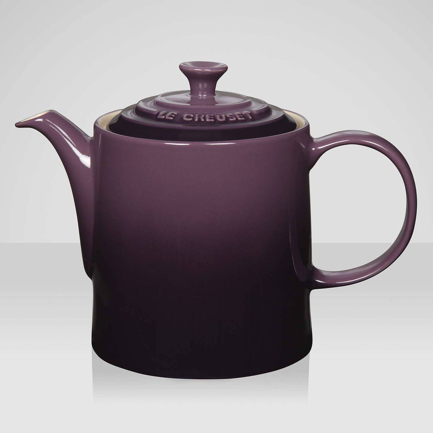 le creuset stoneware grand teapot 1 3l at john lewis. Black Bedroom Furniture Sets. Home Design Ideas