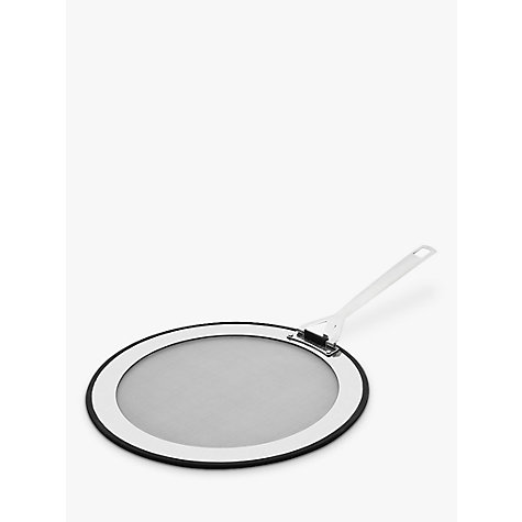 Buy Le Creuset 3-Ply Stainless Steel Splatter Guard, 30cm Online at johnlewis.com
