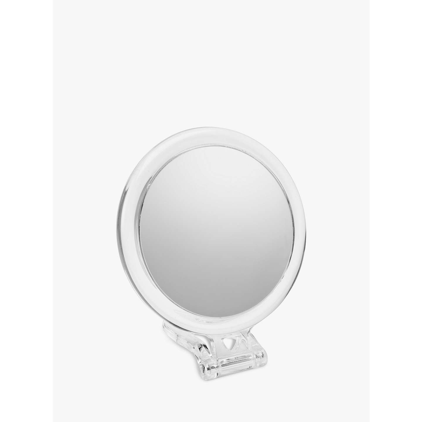 john lewis 10x magnification acrylic hand mirror at john lewis. Black Bedroom Furniture Sets. Home Design Ideas