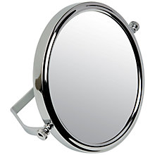 Buy John Lewis 5x Magnification Folding Stand Chrome Mirror Online at johnlewis.com