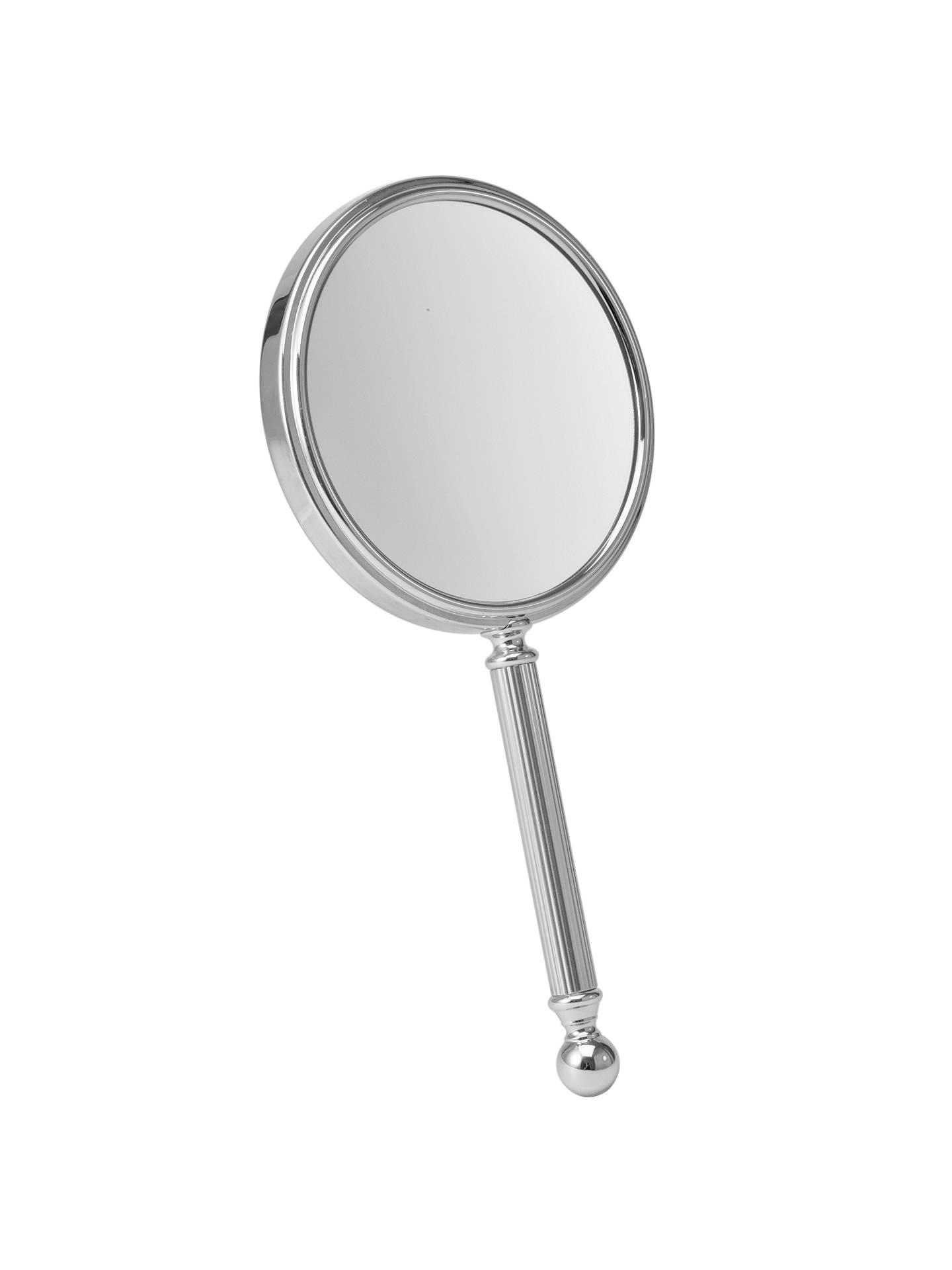 John Lewis 3x Magnification Handheld Mirror Chrome At Johnlewis Com