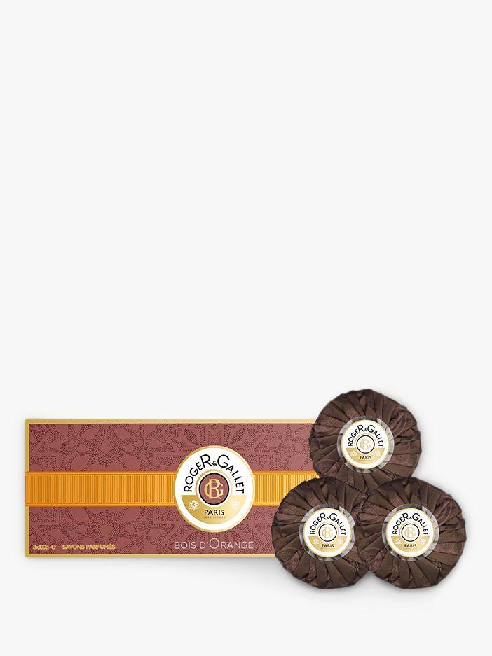 Roger & Gallet Roger & Gallet Bois D'Orange Perfumed Soap Gift Set, 3 x 100g