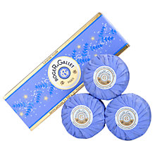 Buy Roger & Gallet Lavande Royale Soap Coffret, 3 x 100g Online at johnlewis.com