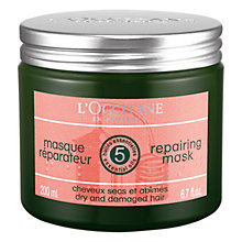 Buy L'Occitane Aromachologie Hair Volumising Mask, 250ml Online at johnlewis.com