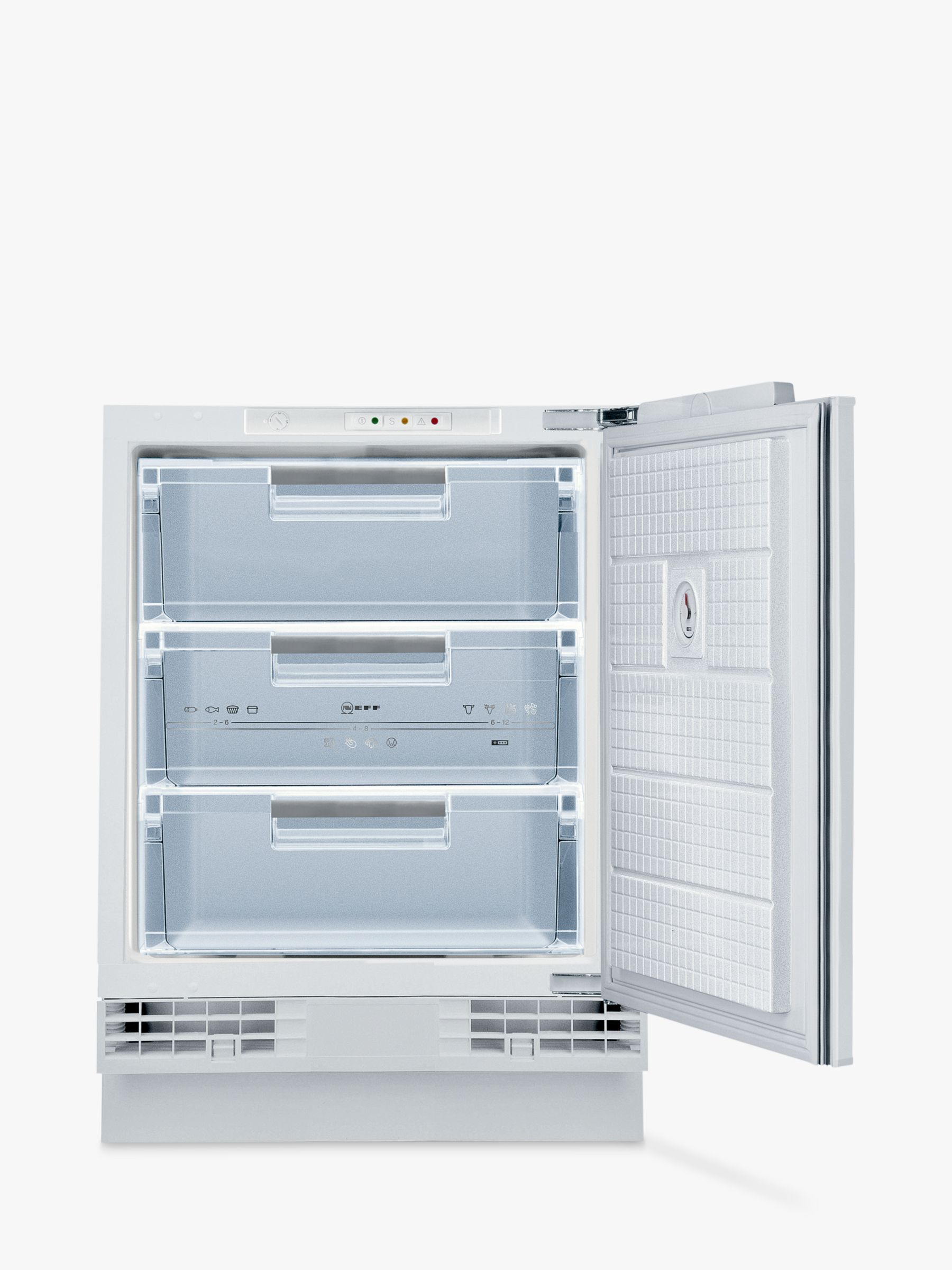 NEFF Neff G4344X7GB Integrated Freezer, A+ Energy Rating, 60cm Wide,