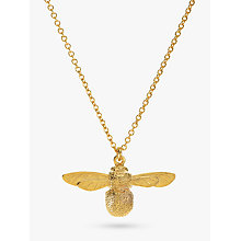 Buy Alex Monroe Baby Bee Necklace, Gold Online at johnlewis.com