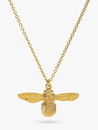 Alex Monroe Baby Bee Necklace, Gold