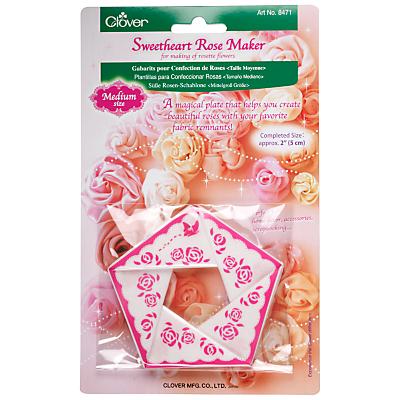 Clover Sweetheart Rose Maker, Medium