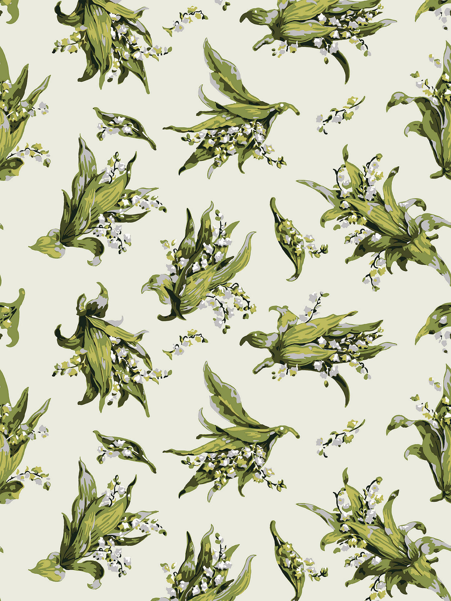 Cole Son Lily Of The Valley Wallpaper Ivory 91 2005 At