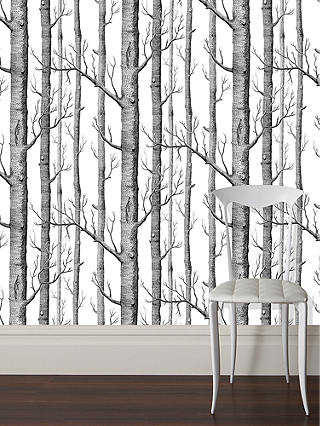 Buy Cole & Son Woods Wallpaper, Putty / White, 69/12149 Online at johnlewis.com