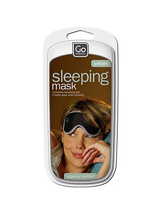 Go Travel The Nightshade Sleep Eye Mask, Black