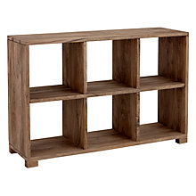John Lewis Stowaway Low Bookcase Online At Johnlewis