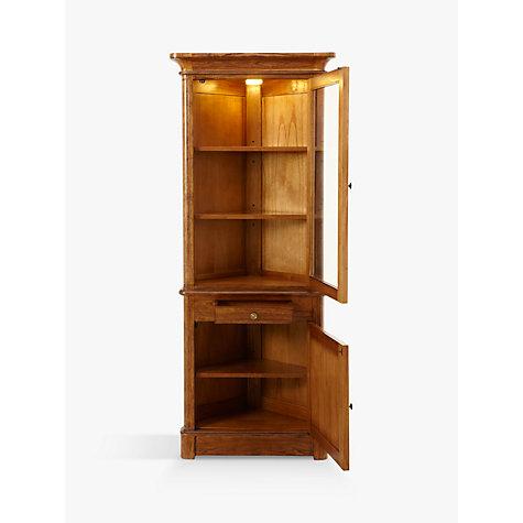 Buy John Lewis Hemingway Corner Display Cabinet John Lewis