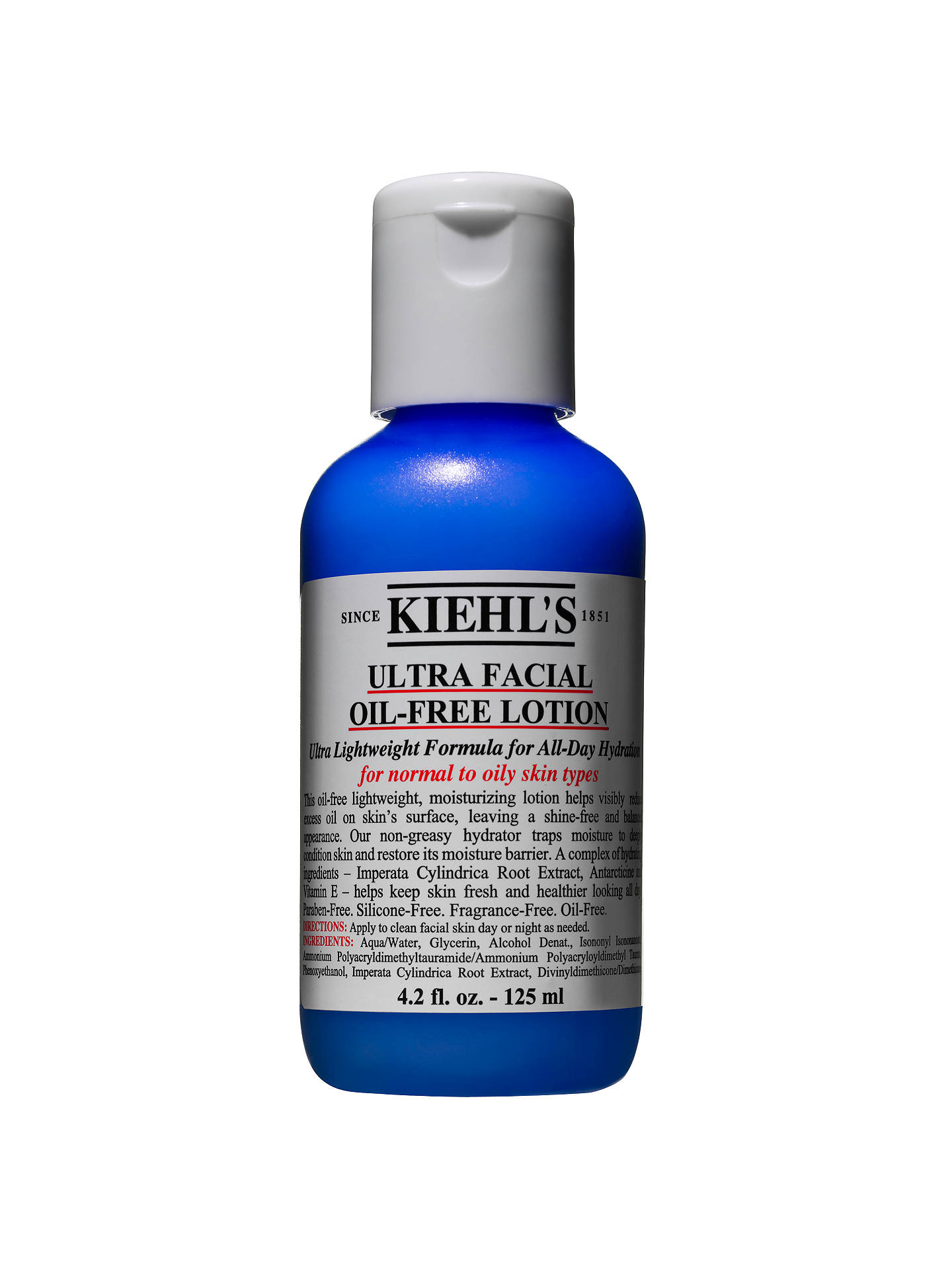 BuyKiehl's Ultra Facial Oil-Free Lotion, 125ml Online at johnlewis.com