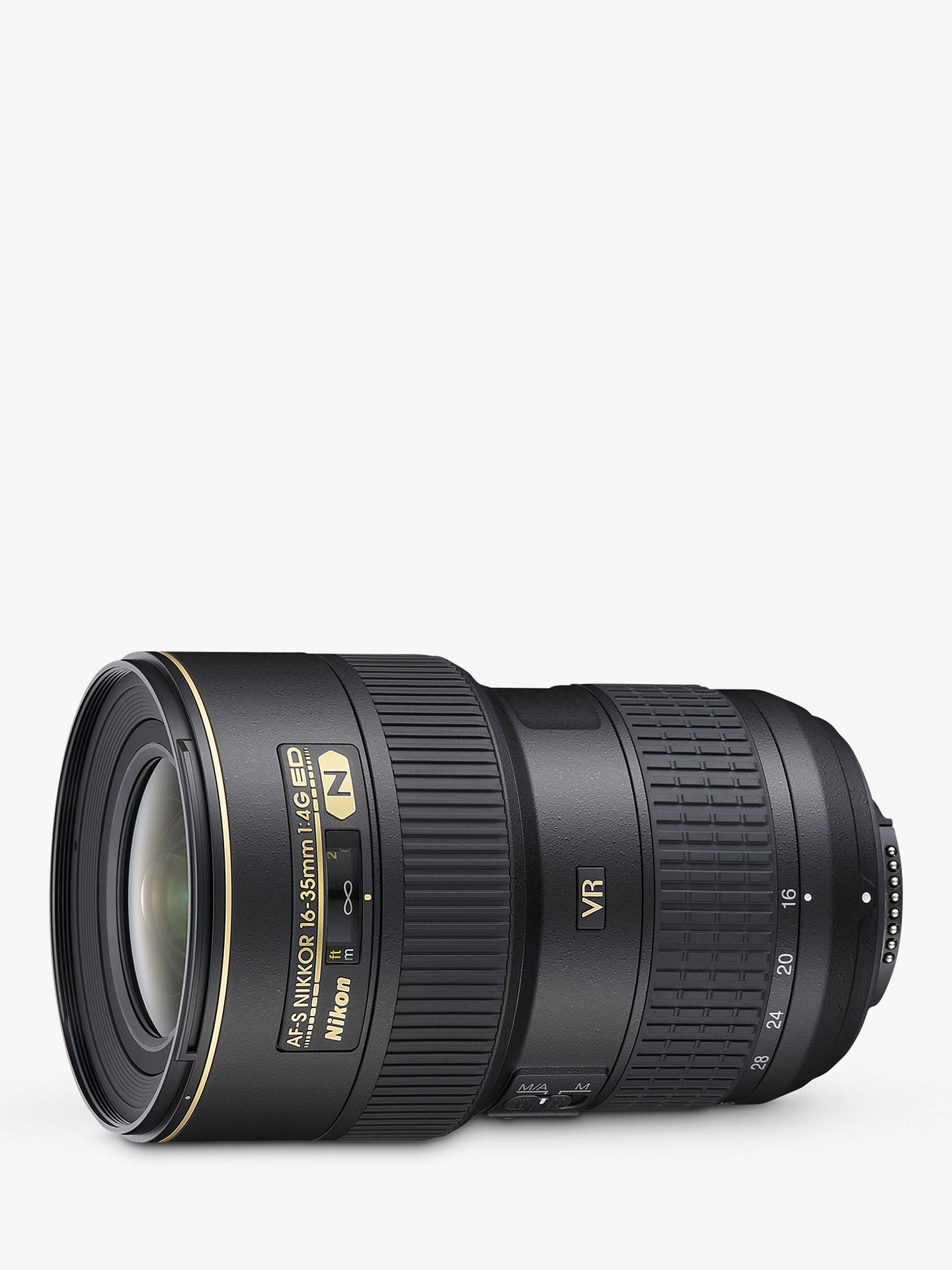 BuyNikon AF-S 16-35mm f/4G ED VR Zoom Lens for use with Nikon FX-format SLRs Online at johnlewis.com