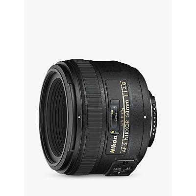 Nikon 50mm f/1.4G AF-S Standard Lens