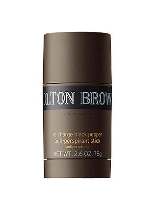 Buy Molton Brown Re-Charge Black Pepper Deodorant Stick, 75g Online at johnlewis.com
