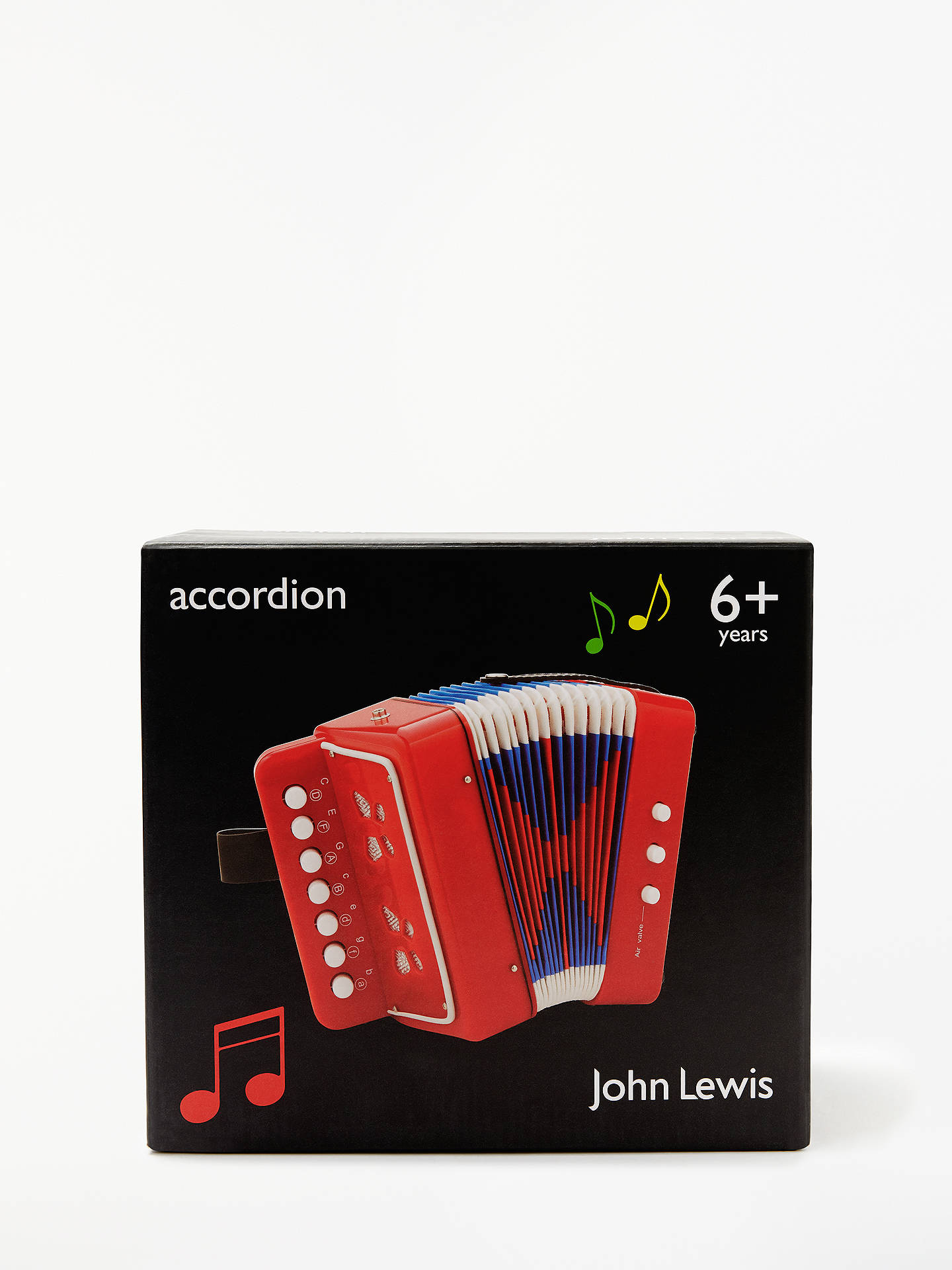 John Lewis & Partners Accordion