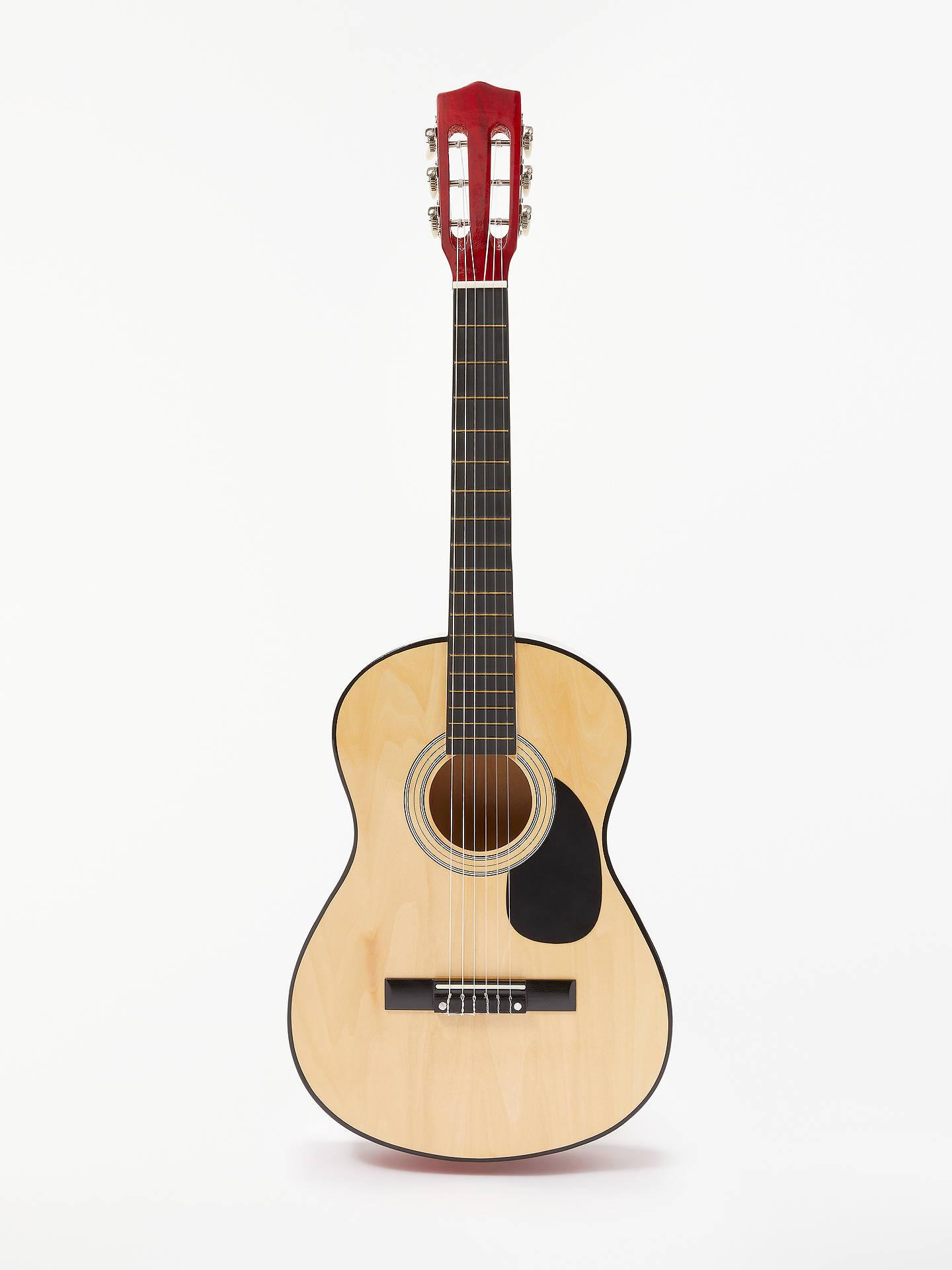 "John Lewis & Partners 36"" Wooden Acoustic Guitar"
