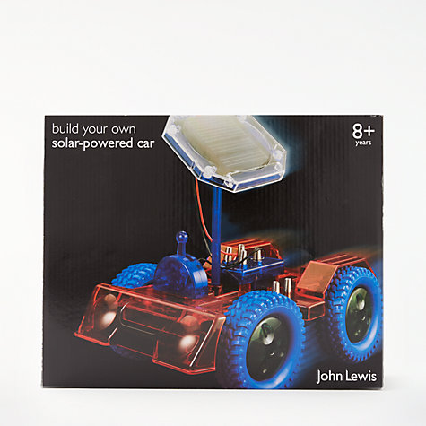 Buy John Lewis Build Your Own Solar-Powered Car Online at johnlewis.com