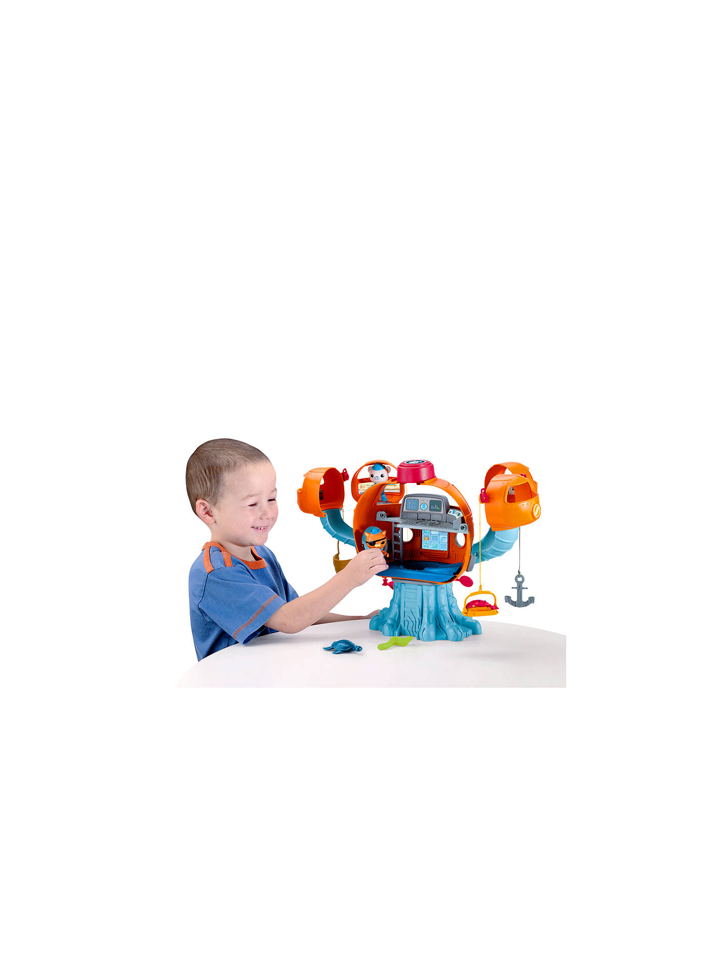 Fisher-Price Octonauts Octopod Playset at John Lewis & Partners