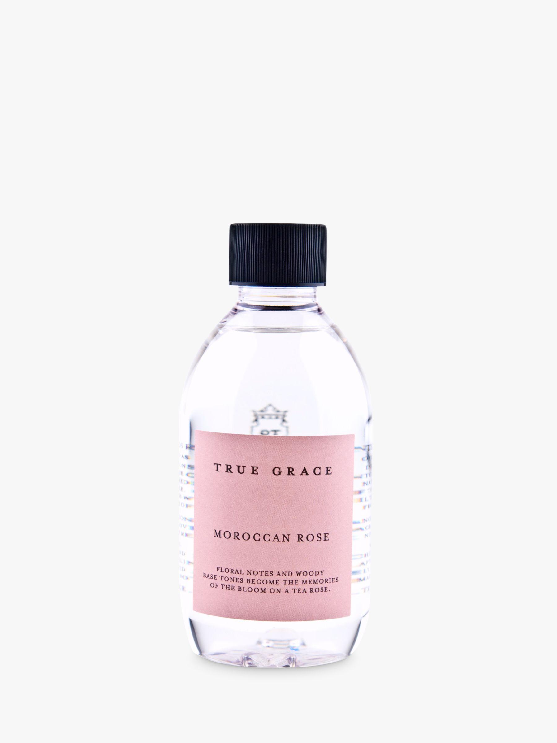 True Grace True Grace Village Diffuser Refill, Moroccan Rose, 250ml