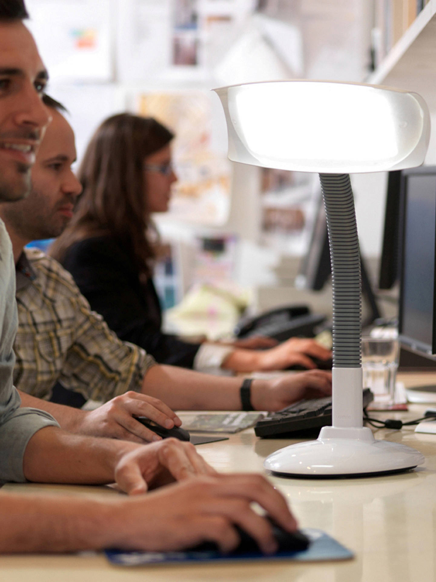 Buy Lumie Desklamp Touch Dimmable SAD Light Online at johnlewis.com