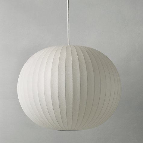 Buy George Nelson Bubble Ceiling Light, Medium Online at johnlewis.com