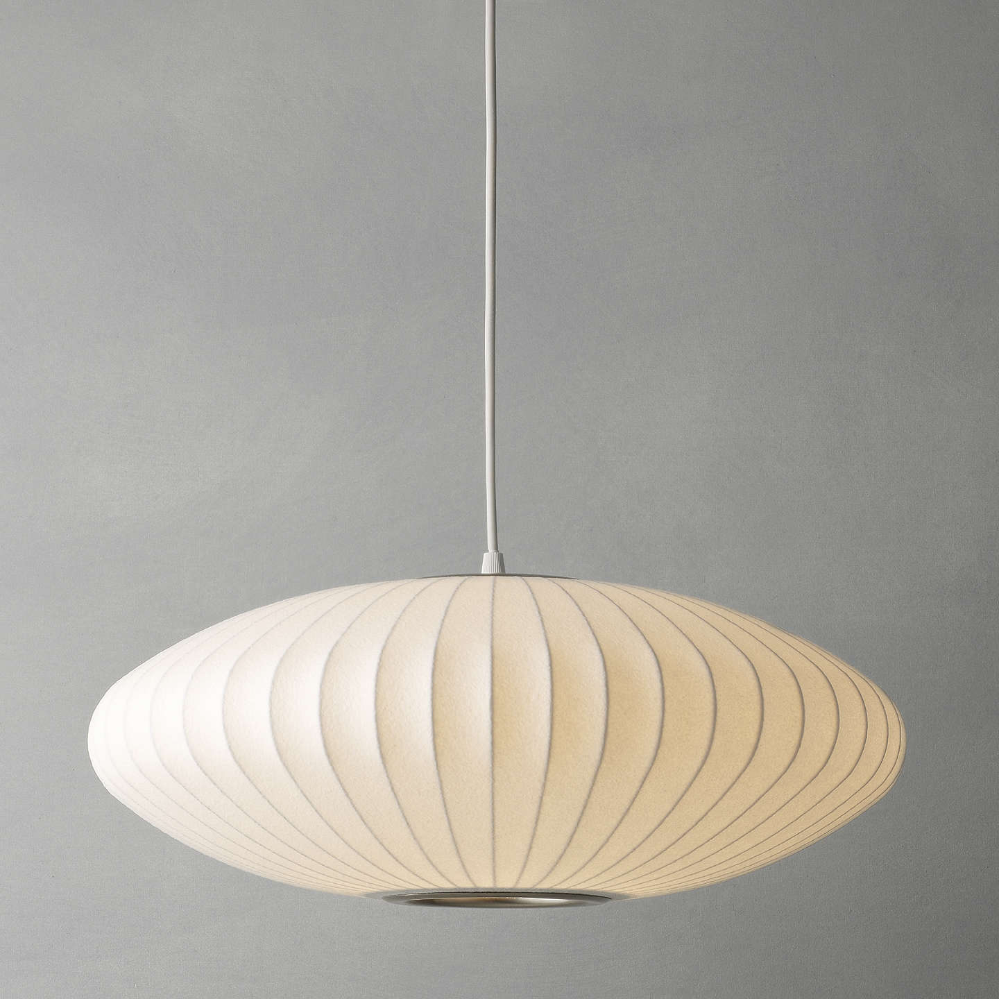 george nelson bubble lamp. BuyGeorge Nelson Bubble Saucer Ceiling Light, Medium Online At Johnlewis.com George Lamp _