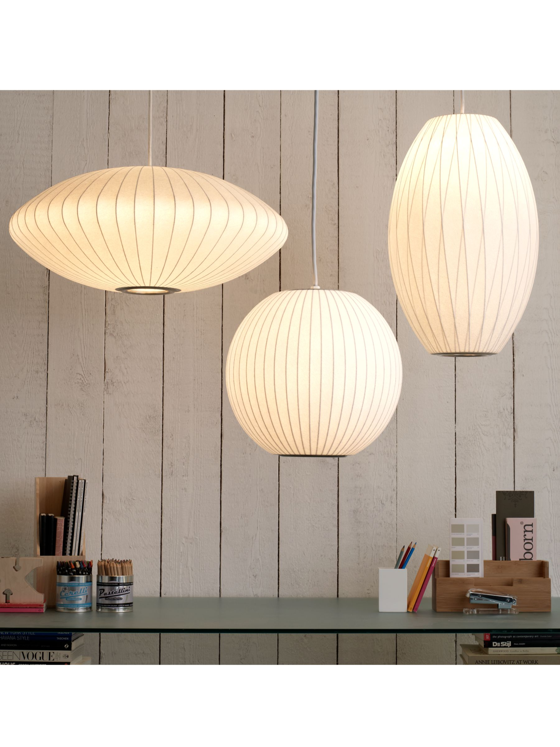 Herman Miller Bubble Saucer Ceiling Light Medium At John Lewis Partners