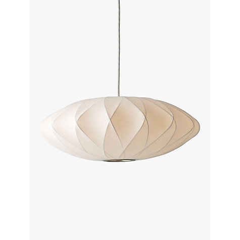 Buy George Nelson Bubble Crisscross Saucer Ceiling Light, Medium Online at johnlewis.com