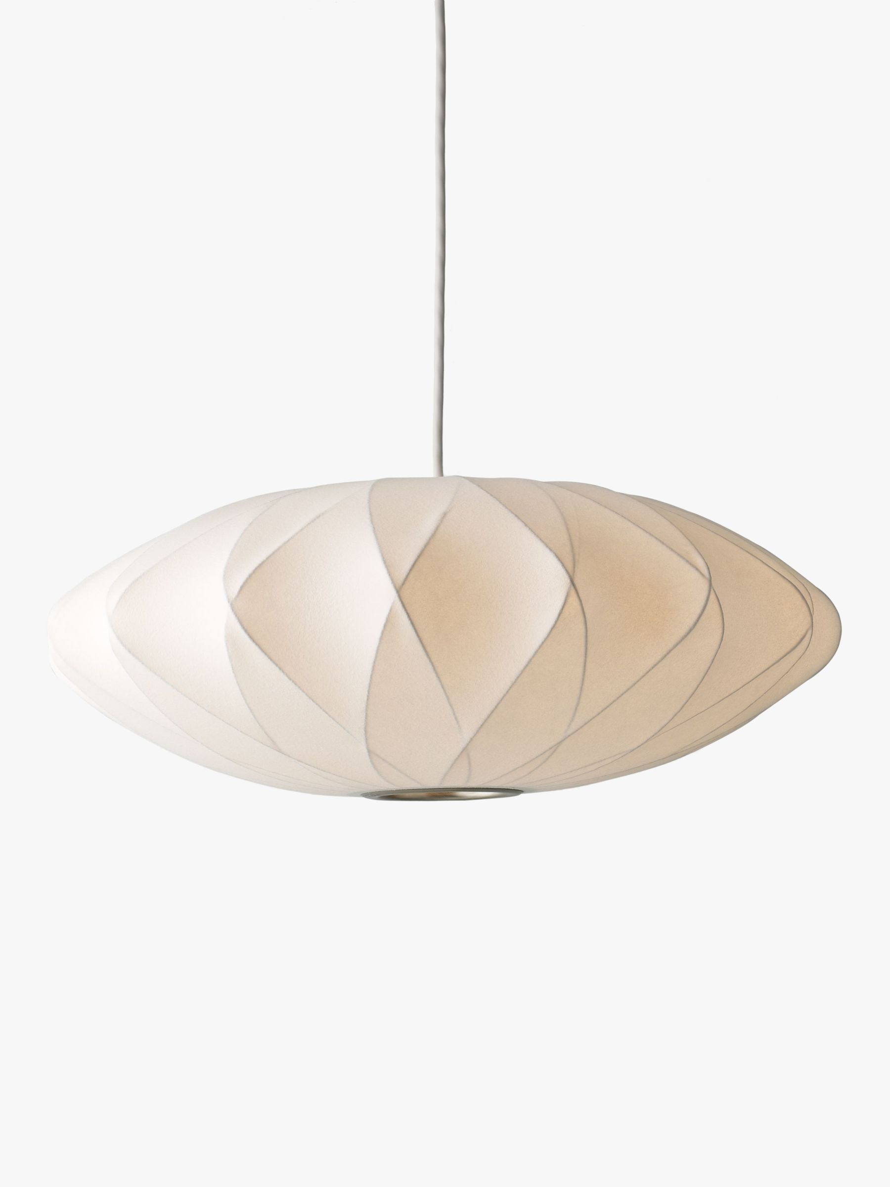 Herman Miller Herman Miller Bubble Crisscross Saucer Ceiling Light, Medium